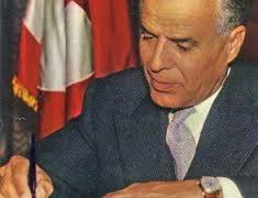 Habib Bourgiba, president 1957 – 87.