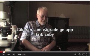 Initiativet till dokumentärfilm om Erik Enby