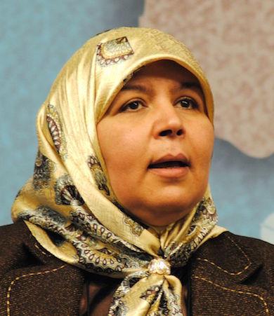 Mehrezia Labidi, 2013 (Wikimedia)