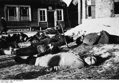 Massmord av sovjetiska civila.