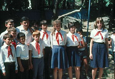 Ryska pionjärer (Wikimedia Commons)