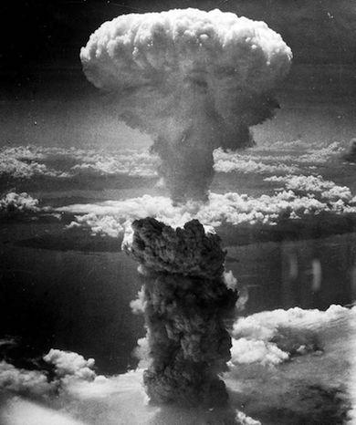 Atombomben över Nagasaki 2:a Världskriget
