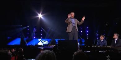 """Hans Rosling talar, """"Hela Sverige skramlar, SVT"""