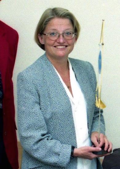 Utrikesminister Anna Lindh (f.1957- d.2003)