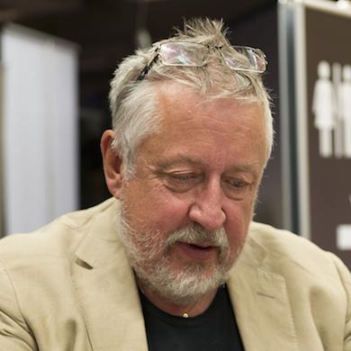 """""""Leif GW Persson, Bokmässan 2013 Foto: Albin Olsson - Eget arbete."""