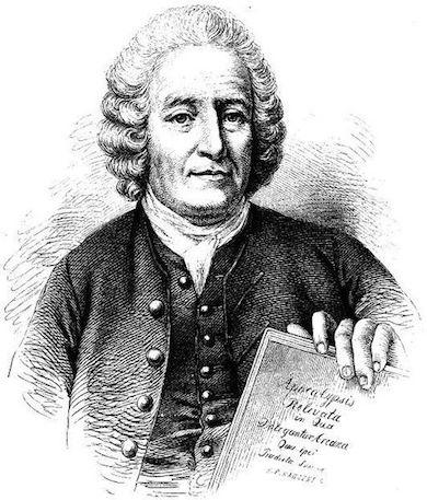 Emanuel Swedenborg (1688 - 1772) wikimedia commons