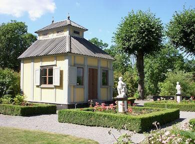 Swedenborgs lusthus på Skansen, Stockholm (Holger Ellgard wikimedia Commons)