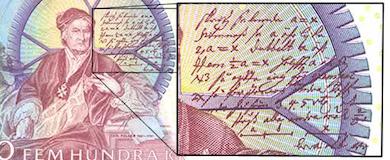 Uppfinnaren Christopher Polhem på 500-kronorssedeln