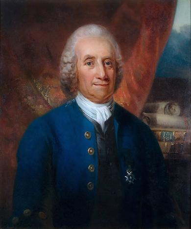 Emanuel Swedenborg (1688-1772) av Carl Frederik von Breda