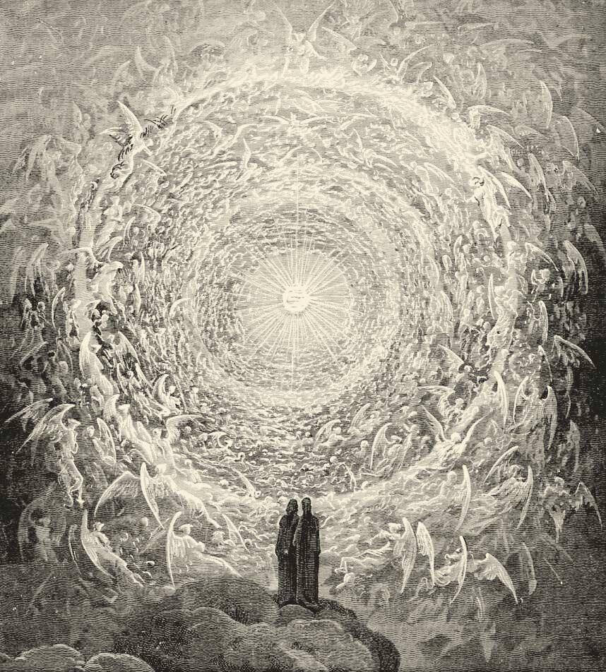 Paradiso Canto av Gustav Doré