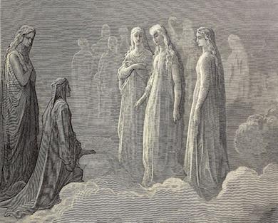 Paradiso (utsnitt) Divina Commedia. G. Doré