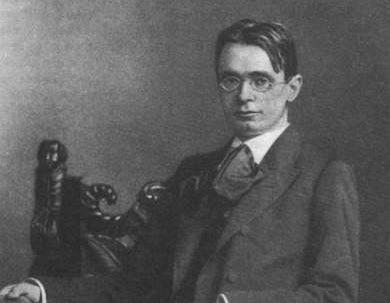 Rudolf Steiner (1861-1925), Berlin 1900.