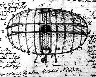 Swedenborgs flygande maskin