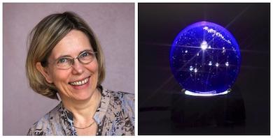 "Ursula Flatters tilldelas ""Universe Globe"" HK Diplom 2015"