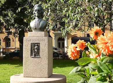 Emanuel Swedenborg, Mariatorget. Foto: Holger.Ellgaard Wikicommons