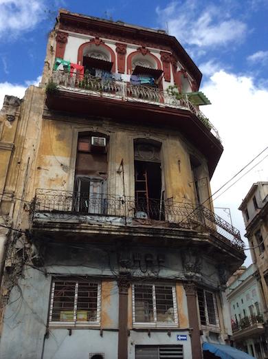 Fasad 1 Centrala Havanna Jan 2016
