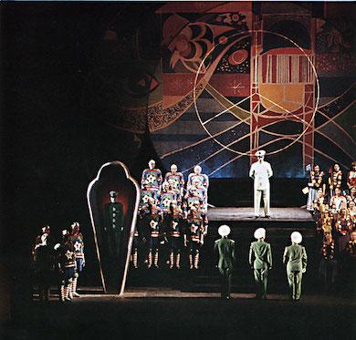 Premiäruppsättningen på Kungliga Operan 1959. Av Photographer: Lennart Olson, Tiofot Public domain
