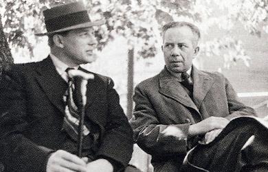 Harry Martinson och Ivar Lo Johansson