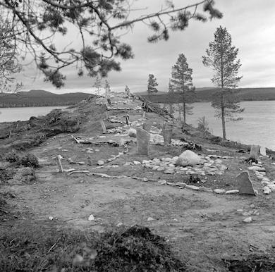 Utgrävning av Krankmårtenhögen i Härjedalen. Foto: Göran Stolpe. Wikicommons