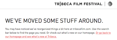 Tribeca festival