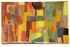 Paul Klee och Ivan Aguéli på Moderna museet