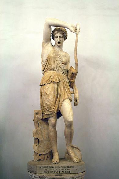 Den skadade amazonen i Capitolium, Rom. Foto: Jean-Pol Grandmont. Wikicommons