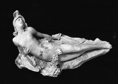 Amazon. Skulptur av Andrea Malfatti (1850 - 1900) Wikicommons