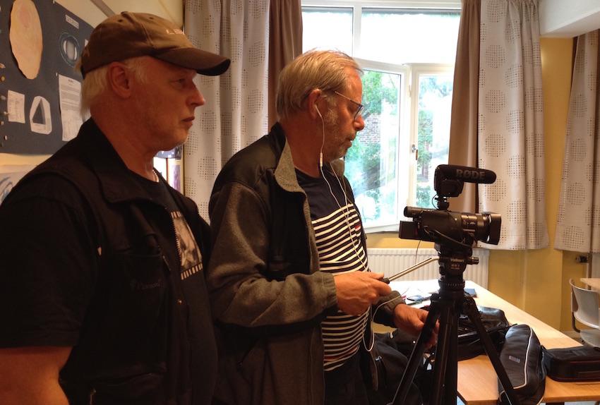 Producent Börje Peratt och Fotograf Lars af Sillén (Foto: Anna Hallgren)