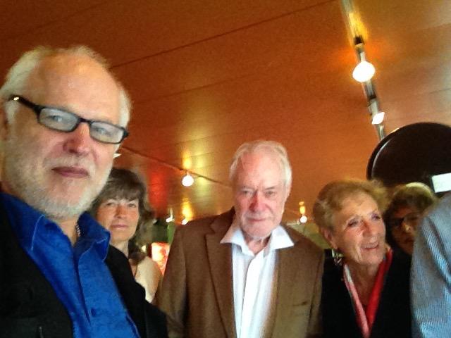 Börje Peratt, Ulla Premmert, Erik Enby, Siv Wernborg (BP selfie)