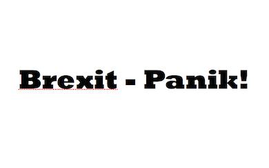 Brext-panik