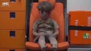 Ett krigsdrabbat barns blick