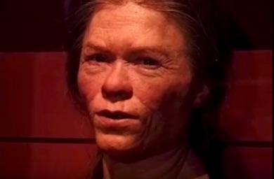 Barumkvinnans återskapade ansikte