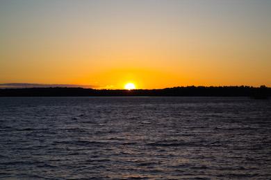 Solnedgång, wikicommons
