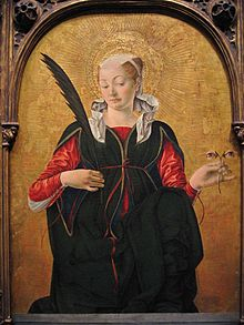 St Lucia (Francesco del Cossa 1430-1477)