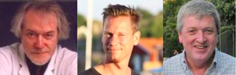 Erik Enby, Markus Johansson, Leif Lundberg