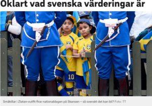 Svenska värderingar oklara?
