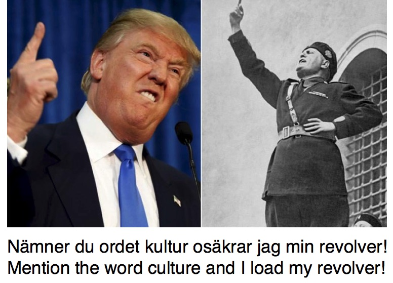 Trump-Mussolini Collage /BP