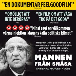 Mannen från Snåsa på Bio Zita 24 april