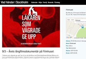 Årets långfilmsdokumentär på Filmhuset igen! 9/3 kl 18