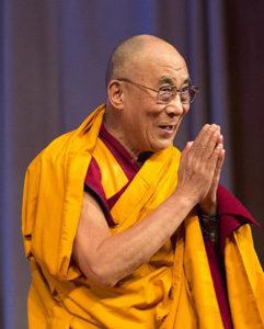 """Dalai Lama: """"Bröder och systrar, God morgon!"""""""