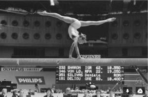 Hjärnskadad gymnast botad med mental träning