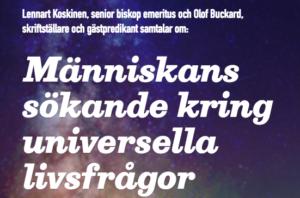 Människans sökande kring universella livsfrågor, Debatt i Stockholm 2018-02-14
