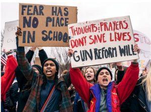 Framåt amerikansk ungdom kan påverka vapenlagarna