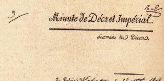 Ehrenlegion Dekret, 1808