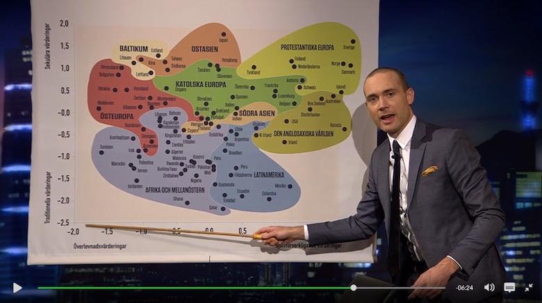 """Jesper Rönndahl i """"Svenska nyheter"""" (Skärmdump SVT)"""
