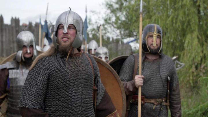 Beowulfkvädet ligger bakom mycket av dagens fantasyböcker och filmer. Bland annat lät sig JRR Tolkien inspireras av dikten från 700-talet när han skrev Sagan om ringen. Pressbild: SVT-VETENSKAPENSVARLD-2019-E09-e306