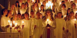 Luciafirande i svensk kyrka, Claudia Gründer, CC BY-SA 3.0, Wikipedia
