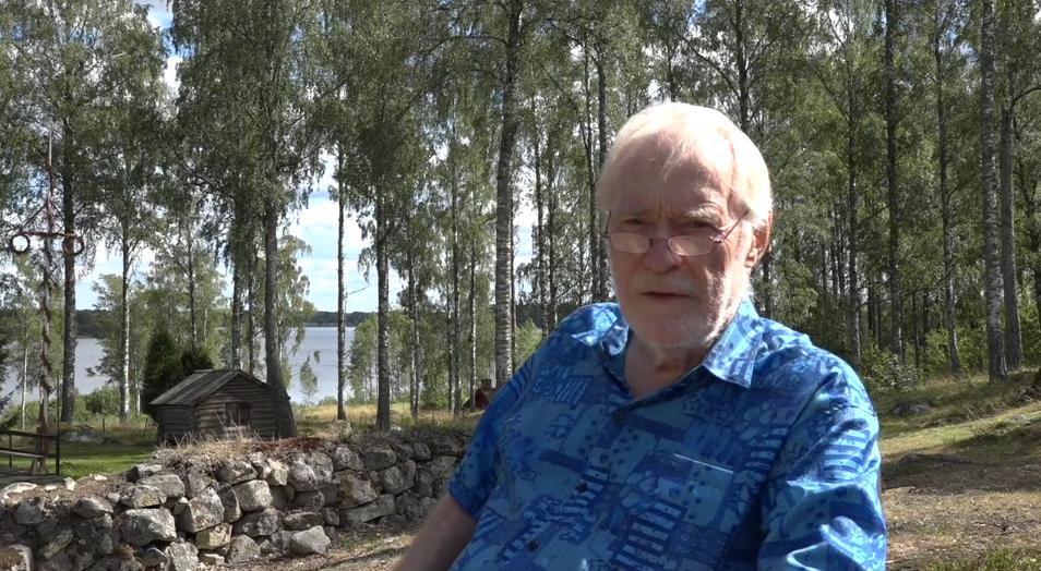 """Dr Erik Enby, i dokumentären """"Sista striden"""" Foto Börje Peratt"""