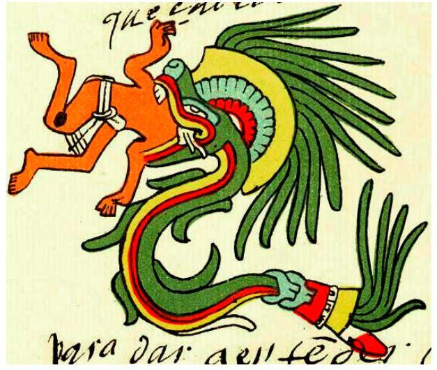 Quetzalcoatl, Kukkulcan fron Code Telleriano Remensis