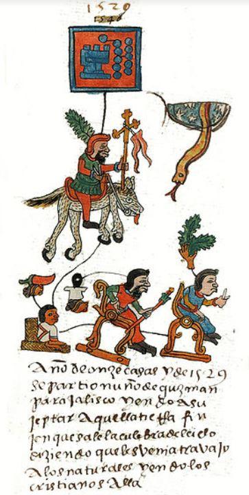 Conquistadorernas ankomst
